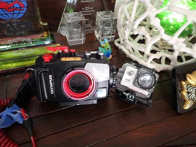 水中カメラレンタル