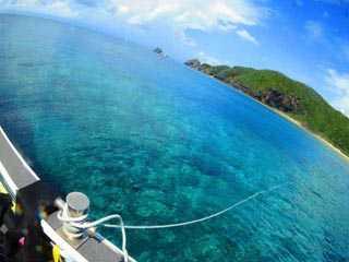 沖縄・慶良間諸島でファンダイビング