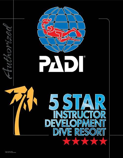 PADI5スターIDリゾート