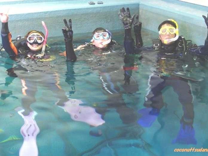 自社ダイビング プール