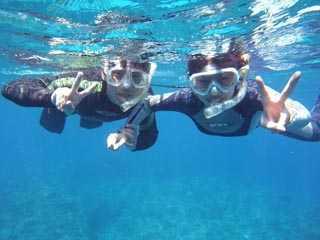 ケラマ・ボートで行く沖縄シュノーケリングツアー