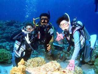 沖繩体験ダイビング